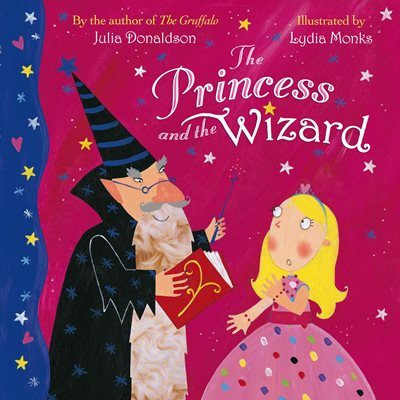 Book cover for The Princess and the Wizard Big Book